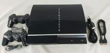 Sony Playstation 3 Ps3 250Gb Video Game System Fat Console Cechp01 2 Controller