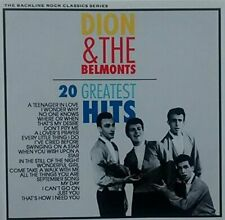 Dion & The Belmonts 20 greatest hits  [CD]
