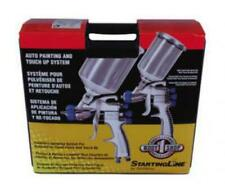 New Devilbiss 802342 Startingline Hvlp Gravity Spray Gun Auto Paint Touch Up Kit
