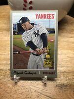 2019 Topps Heritage Miguel Andujar High # SP Short Print New York Yankees #473