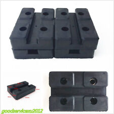 4 X Car Offroad Rectangular Heavy Duty Lift Accessories Rubber Arm Pad Universal