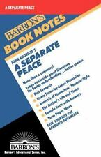 John Knowles's a Separate Peace (Barron's Book Notes)-ExLibrary