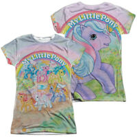 MY LITTLE PONY CLASSIC Licensed Women's Junior Graphic Tee Shirt SM-2XL