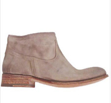 NDC n.d.c. Shana beige suede low cut desert ankle boots Size 40 Handmade $675