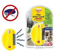 ZeroIn Electronic Flea&Egg Killer Comb Dogs Cats Poison Free STV Live Pest Free