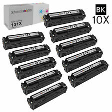10PK CF210X for HP 131 BLACK Toner Cartridge LaserJet 200 Color M251 M276n M251n