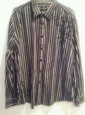 Marc Ecko  long sleeve Men's Shirt No. 72 Times Square New York size XL