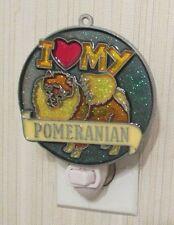 I LOVE MY POMERANIAN NIGHTLIGHT (DOG SUNCATCHER)