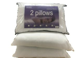 Roma 2 PACK ANTI - ALLERGY SOFT AS DOWN MICROFIBRE PILLOWS