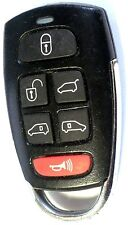 OEM 2006-2009 Kia Sedona 6 button Keyless Remote Key Fob Entry power door opener