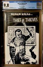 THIEF OF THIEVES #33 CGC 9.8 WALKING DEAD NEGAN KILLS... SKETCH VARIANT - IMAGE