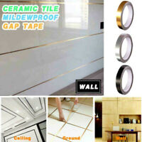 Ceramic Tile Mildewproof Gap Tape Floor Cover Tape Wall Sticker Adhesive hu3s