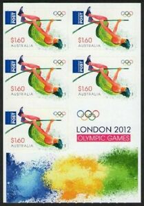 MINT 2012 LONDON OLYMPICS $8 P&S STAMP BOOKLET - BARCODE 541