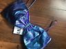 BNWT Zara Purple Metallic Oversized Bow Bralet Top M L