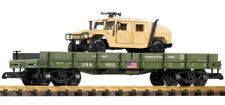 Piko G Scale Trains USATC Humvee Auto Transport 38764