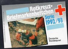 GERMANY 1992/93 SERIES RED CROSS BOOKLET