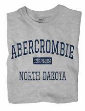 Abercrombie North Dakota ND T-Shirt EST