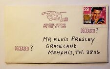 #2721 Elvis Presley US Stamp Envelope Cover VF RTS Deceased