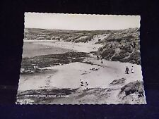 Vintage CYD. 39 The Sands Croyde N. Devon England Frith's RPPC Postcard
