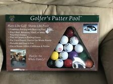 Golfer's Putter Pool, Golf Ball Game, Great For Practice!
