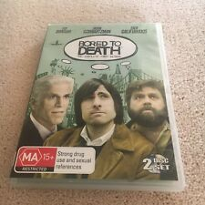 BORED TO EARTH DVD. THE COMPLETE FIRST SEASON. 2 DISC SET.