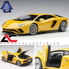 AUTOART 79132 1:18 LAMBORGHINI AVENTADOR S GIALLO ORION/METALLIC YELLOW
