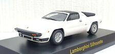 Kyosho 1/64 LAMBORGHINI SILHOUETTE WHITE diecast car model