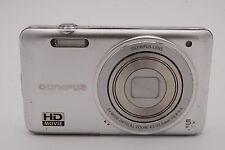 Olympus VG-160 14MP  3'' SCREEN 5x Digital Camera (NO BATTERY) SILVER