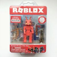 ROBLOX Booga Booga Fire Ant Figure Toy with Exclusive Virtual Item Jazwares NEW