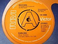 """BACCARA - DARLING   7"""" VINYL DEMO"""