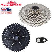 SUNRACE 9 Speed 11-40T Cassette Fit Shimano SRAM MTB Bike Freewheel Derailleurs