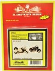 HO Scale JL Innovative Design 904 Classic 1947 Motorcycles 2-Pack Kit