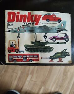 Vintage 1974 Dinky Toys Catalog No. 10, Meccano, Printed in West Germany,