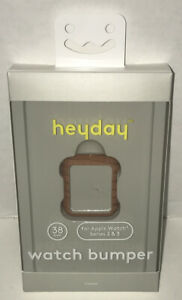 Heyday Watch Bumper for Apple Watch Series 2  & 3 - 38 mm (Tan - Wood Grain)