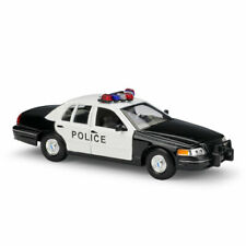 1999 Ford Crown Victoria Police 1:24 Model Car Diecast Vehicle Collection Gift