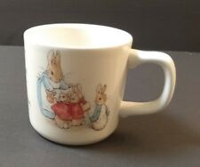 Wedgwood PETER RABBIT Frederick Warne Mug Cup Flopsy Mopsy Cotton-tail Peter.