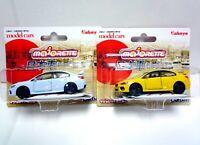 Majorette Japanese Car selection / Subaru WRX STI  Impreza set / 1/58