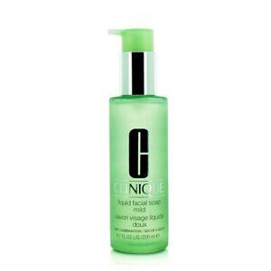 Clinique Liquid Facial Soap Mild 200ml Womens Skin Care