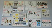 Lot 1980s ARAH GI Joe Cobra Vehicle Play Set Unused Complete Sticker Decal Sheet