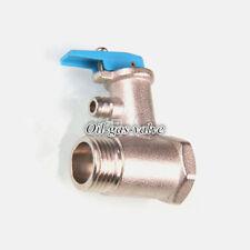 "Safty valve relief valve 1/2"" NPT Brass electric water heater  A.O.SIMITH Haier"