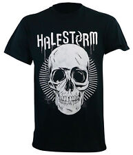 Authentic HALESTORM Haleskull T-Shirt S M L XL 2XL NEW