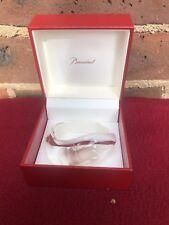 BACCARAT France Rare New  Lavender Crystal Oceane PARMA GRANDE Cuff Bracelet
