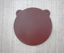 """Hardox AR550  8 Inch Dia.1/4"""" Thick Armour Steel Plate Gong Target Free Shipping"""