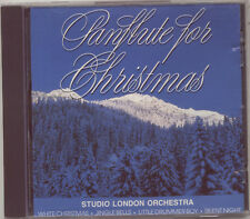 PANFLUTE FOR CHRISTMAS - STUDIO LONDON ORCHESTRA – CD (1988) 16 TRACKS