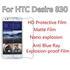 3pcs For HTC Desire 830 Matte,Anti Scratch Anti Explosion Screen Protector