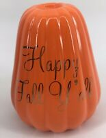 Happy Fall Y'all Orange Pumpkin Decor Autumn Thanksgiving Harvest Halloween