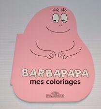 BARBAPAPA mes Coloriages COLORING BOOK 2012 unused