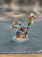 Warhammer Fantasy Lizardmen OOP Metal Snink  Priest Painted B-26