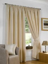 Unbranded Jacquard Curtains with Pencil Pleat
