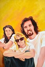 Nirvana (4/C) published (1992) Cover art (Oil Painting) Personality Comics